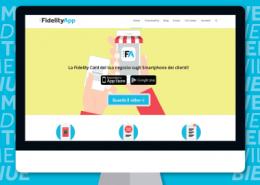 Nuova immagine per la Homepage del sito. La Fidelity Card del tuo negozio sugli Smartphone dei clienti... Con le icone!
