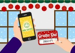 Fidelity Card scratch e App di gioco per gestire Lotterie di Natale informatizzate su più negozi