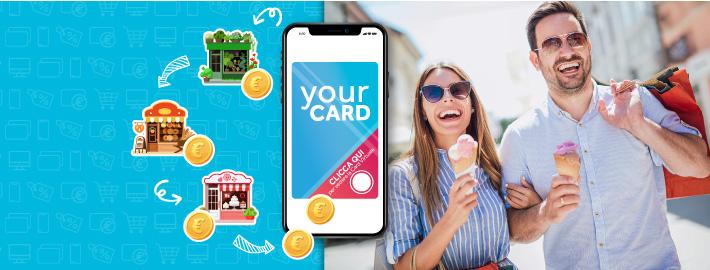 Fidelity Card virtuale Centri Commerciali Nturali